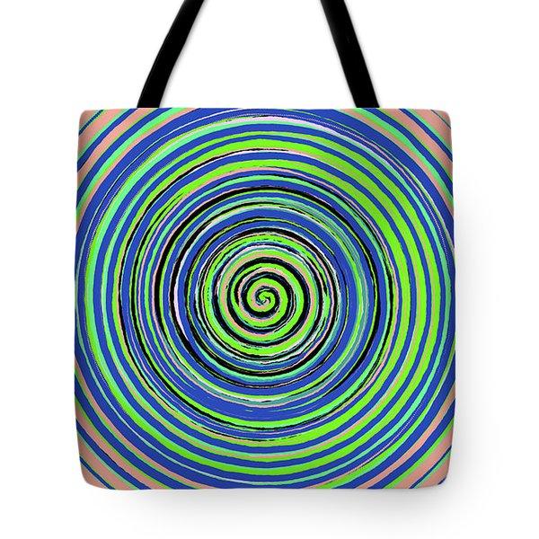 Radical Spiral 19022 Tote Bag