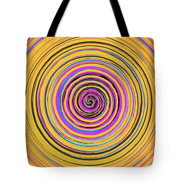 Radical Spiral 19023 Tote Bag