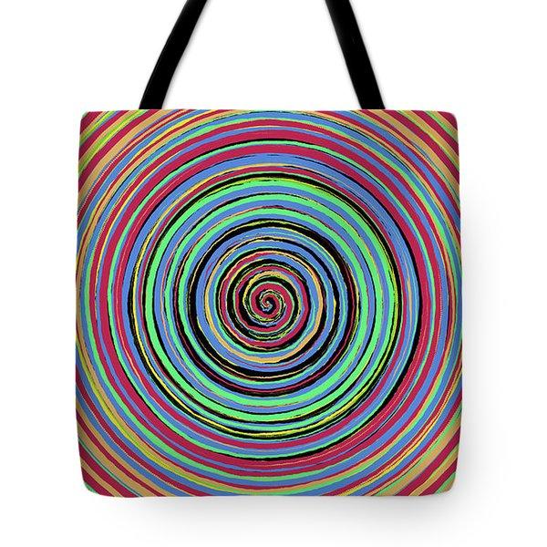Radical Spiral 19031 Tote Bag