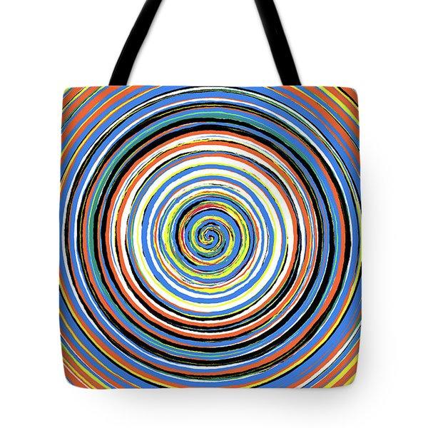 Radical Spiral 19033 Tote Bag