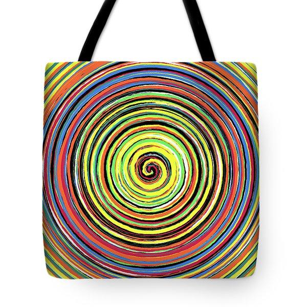 Radical Spiral 19042 Tote Bag