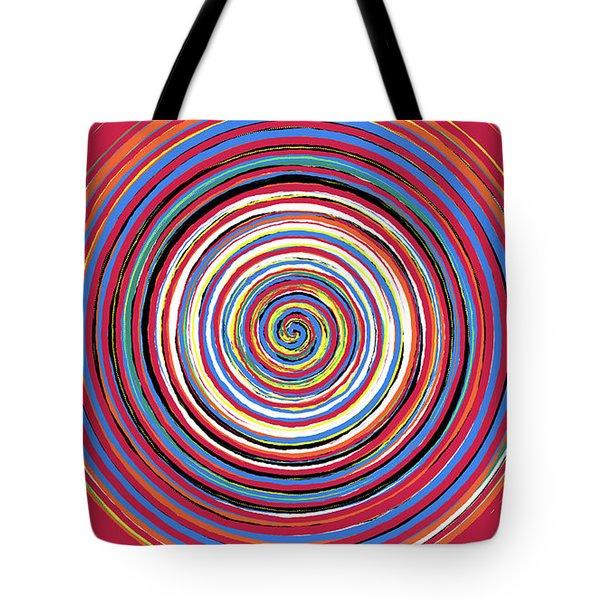 Radical Spiral 19044 Tote Bag