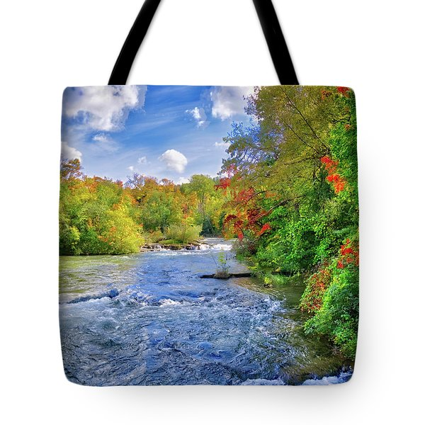 Tote Bag featuring the photograph Raging Beauty At Niagara Falls by Lynn Bauer