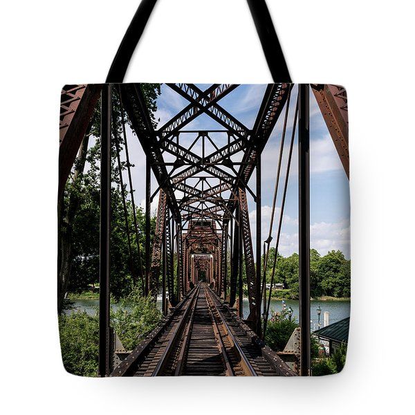 Railroad Bridge 6th Street Augusta Ga 1 Tote Bag
