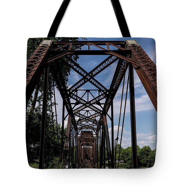 Railroad Bridge 6th Street Augusta Ga 2 Tote Bag