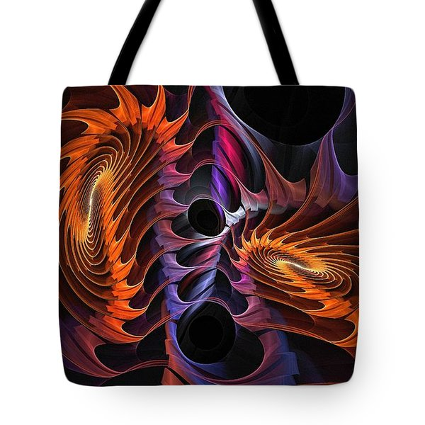 Rainbow Incursion Tote Bag