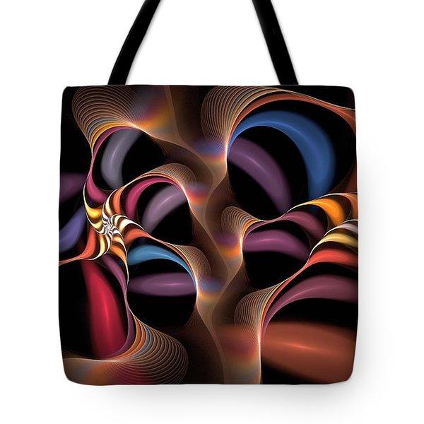 Rainbow Lillies-1 Tote Bag