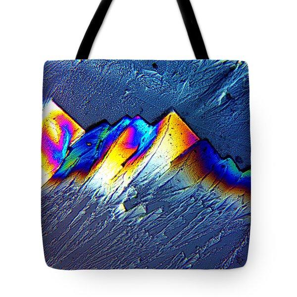 Rainbow Mountains Tote Bag