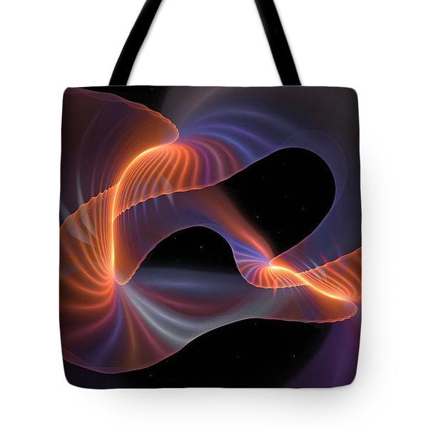 Rainbow Shimmer Tote Bag
