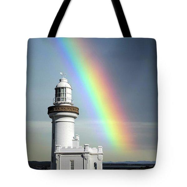 Rainbow Shores Tote Bag