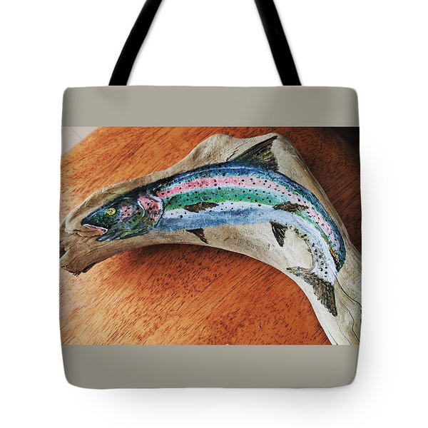 Rainbow Trout #1 Tote Bag