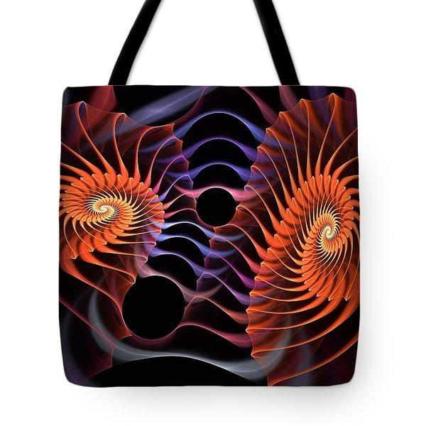 Rainbow Velcro Tote Bag