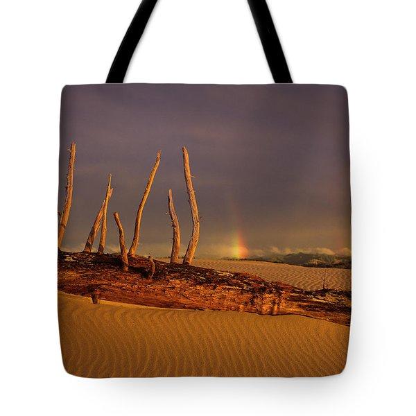 Rainy Day Dunes Tote Bag