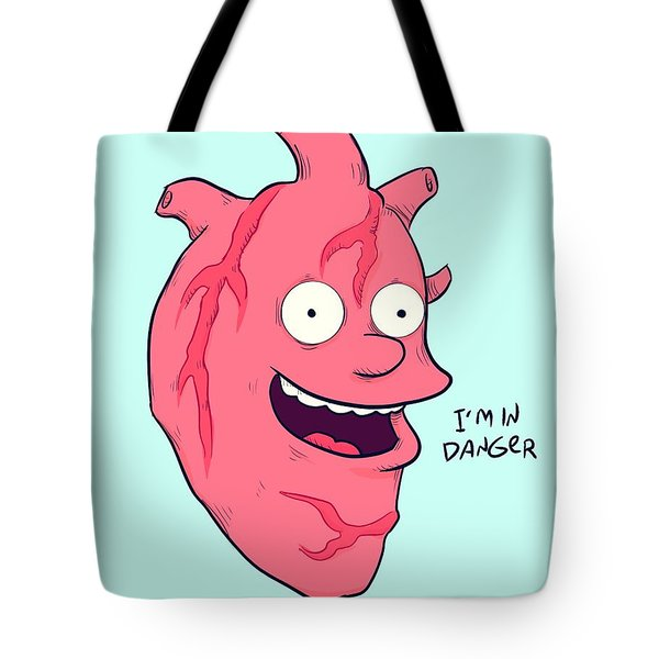 Ralph Heart Tote Bag