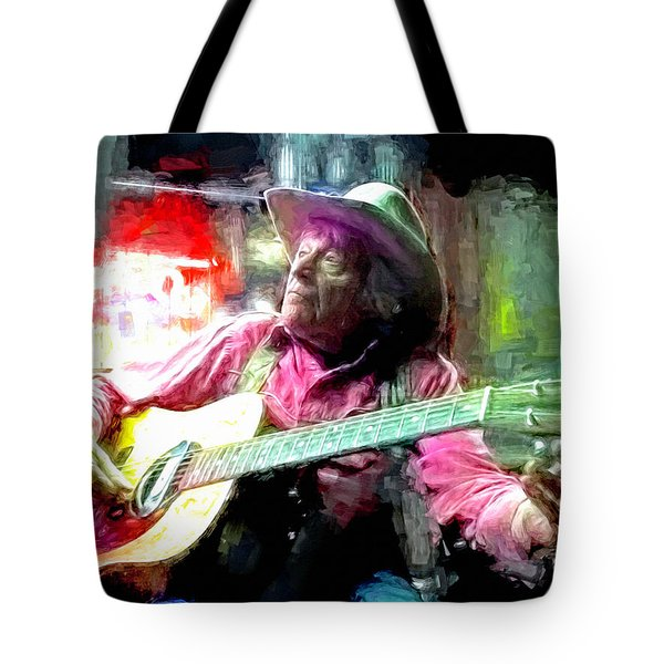 Ramblin Jack Elliott Tote Bag