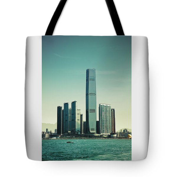Ramparts Of Commerce Tote Bag