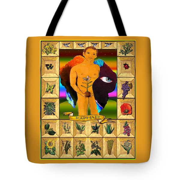 Raphael, The Archangel Tote Bag