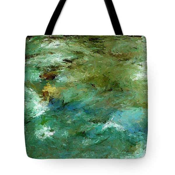 Rapidly Passing Tote Bag