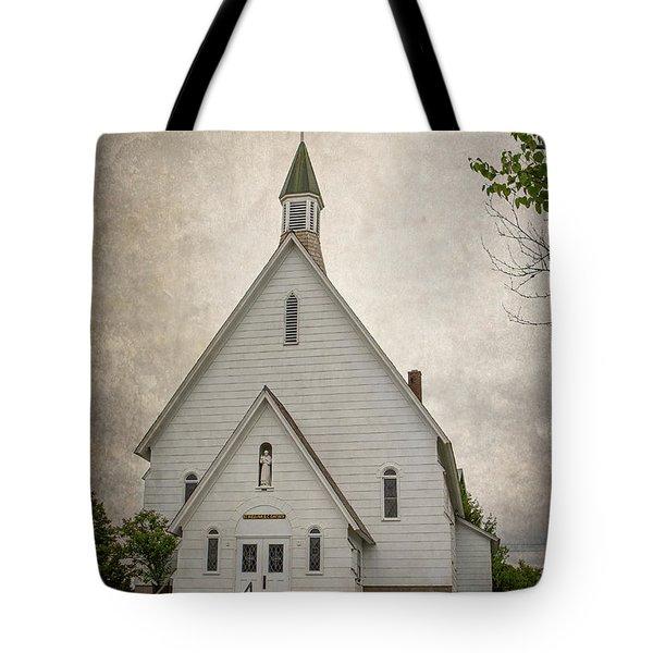 Raquette Lake Chapel Tote Bag