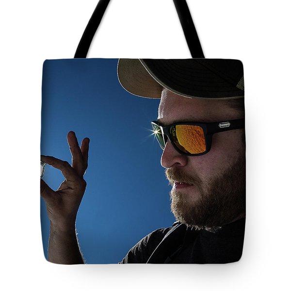 Rare Obsidian  Tote Bag