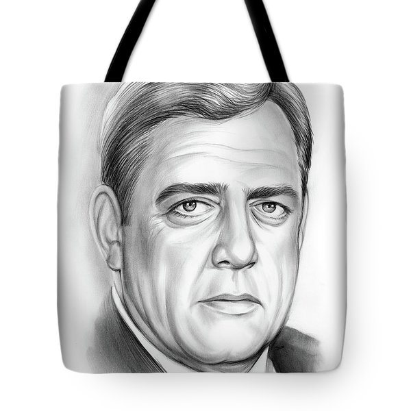 Raymond Burr Tote Bag