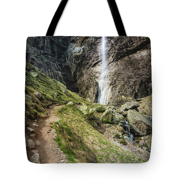 Raysko Praskalo Waterfall, Balkan Mountain Tote Bag