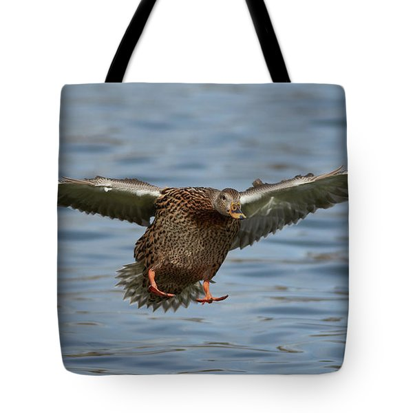 Ready For Landing Tote Bag