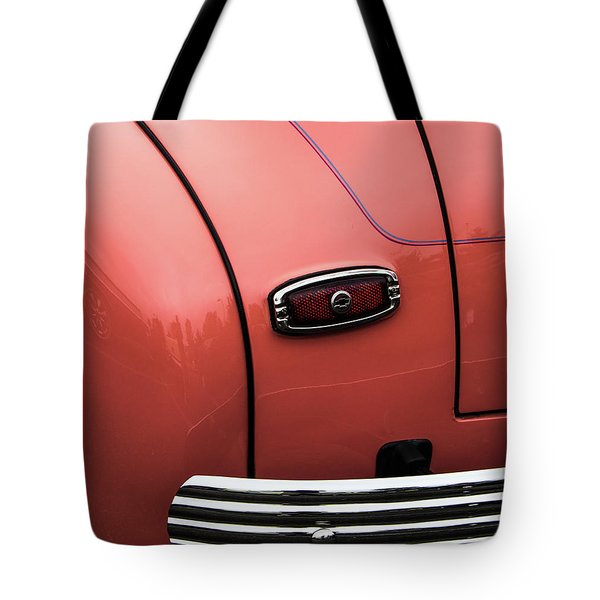 Rear Taillight Tote Bag