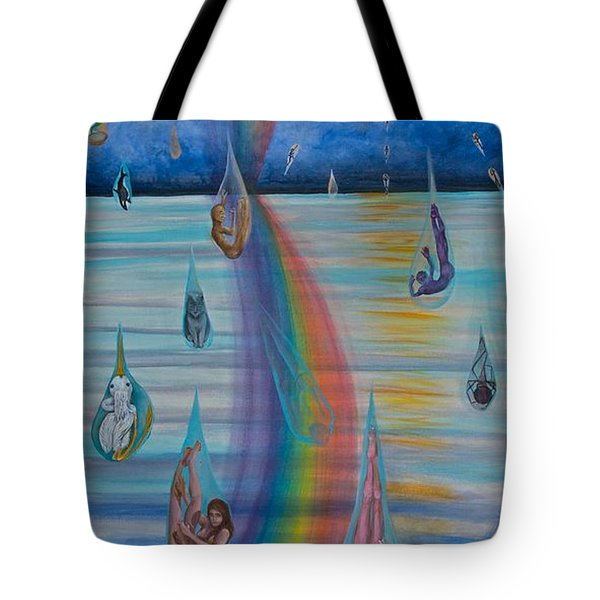 Recycled Energy Tote Bag