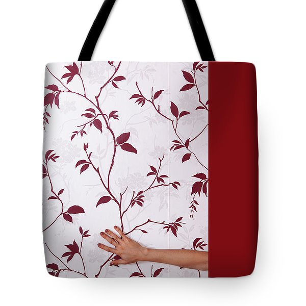 Red #0586 Tote Bag
