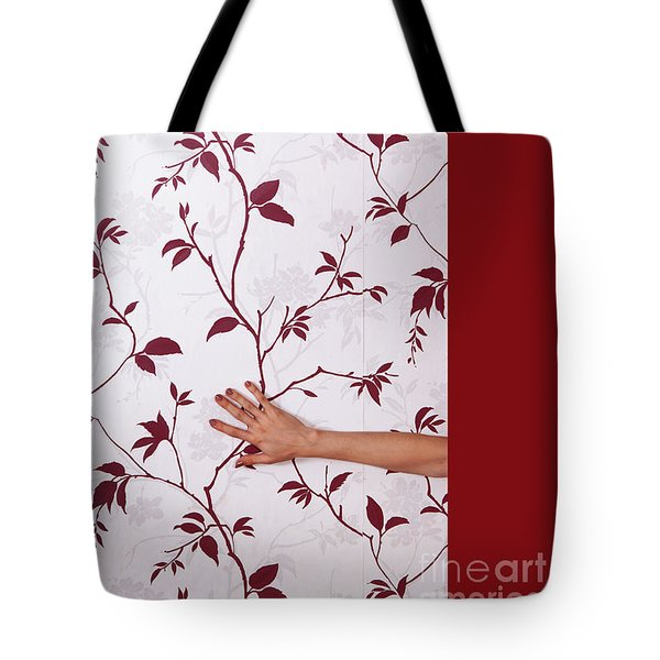 Red #0586 Tote Bag