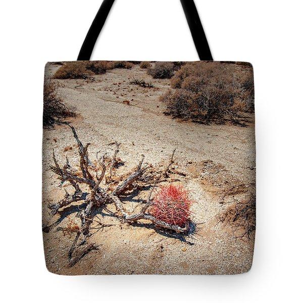 Red Barrel Cactus Tote Bag