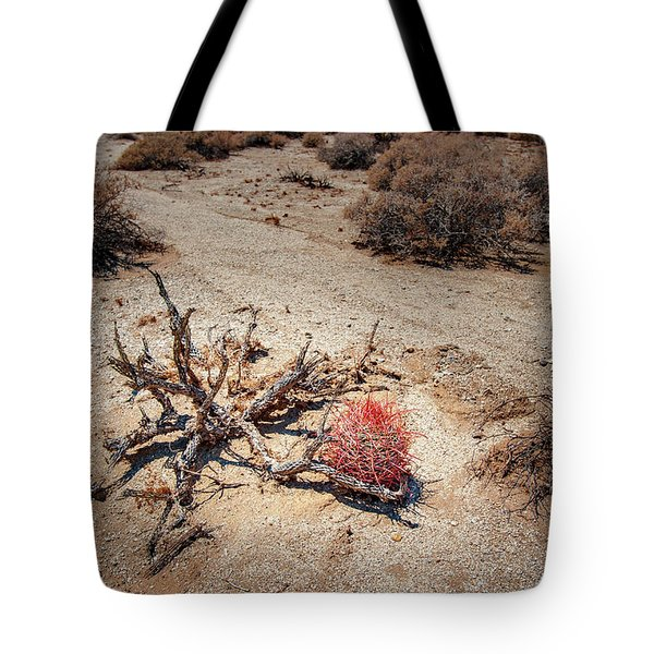 Red Barrel Cactus Tote Bag