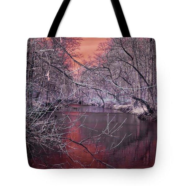 Red Creek Tote Bag