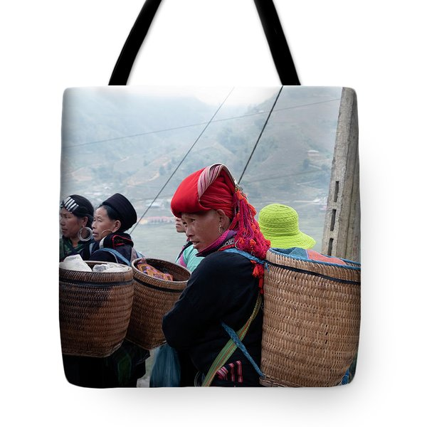 Red Dao Woman, Sapa, Vietnam Tote Bag