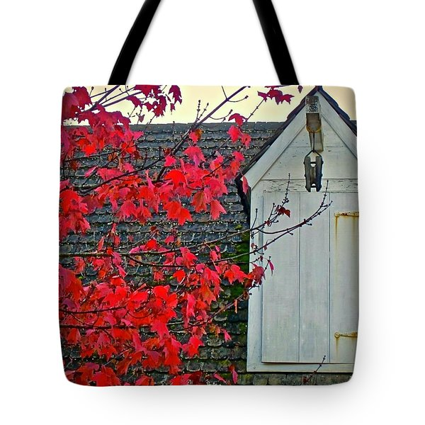 Tote Bag featuring the photograph Red... by Don Moore