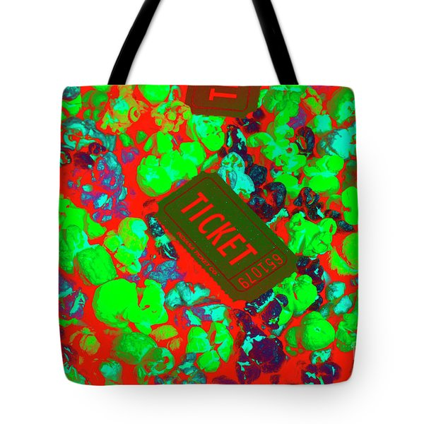 Red Hot Tickets Tote Bag