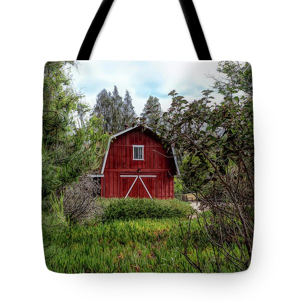 Red House Over Yonder Tote Bag
