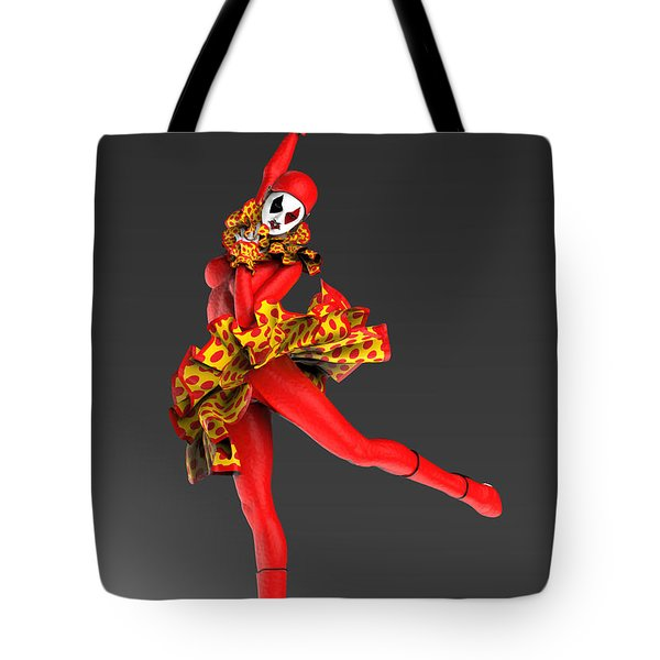 Red Spanish Pierrette Tote Bag