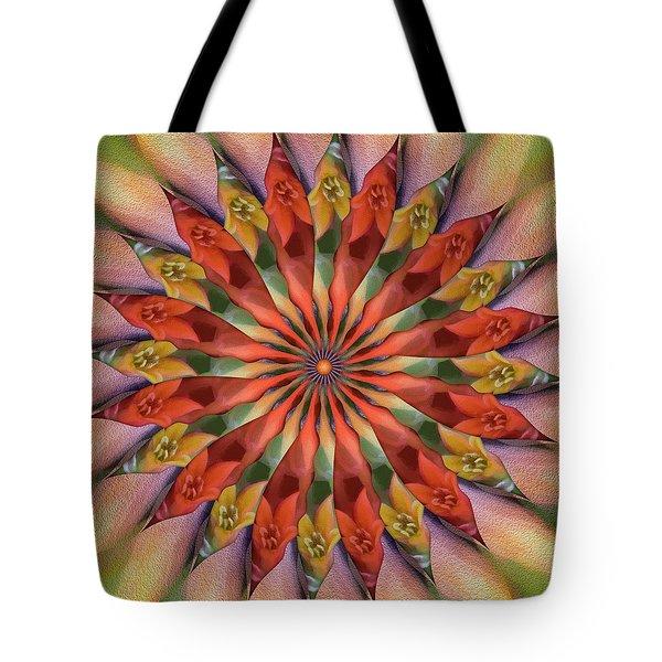 Red Velvet Quillineum Tote Bag