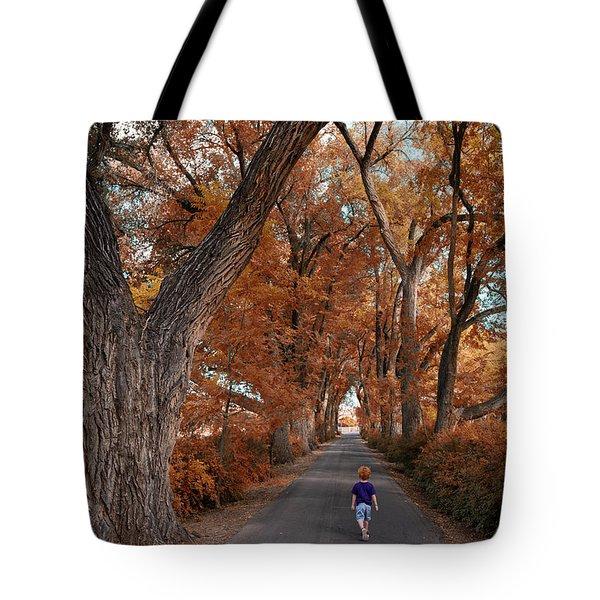 Redhead Fall Walkabout Tote Bag