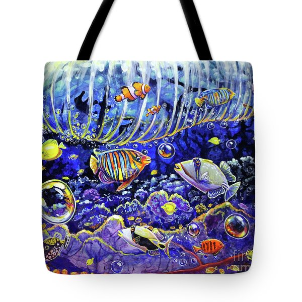 Reef Break Tote Bag