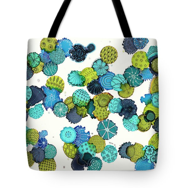 Reef Encounter #5 Tote Bag