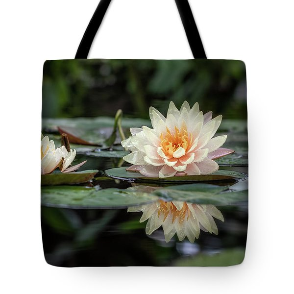 Delicate Reflections Tote Bag