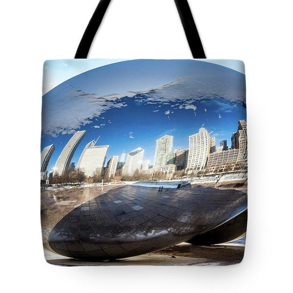 Reflecting Bean Tote Bag
