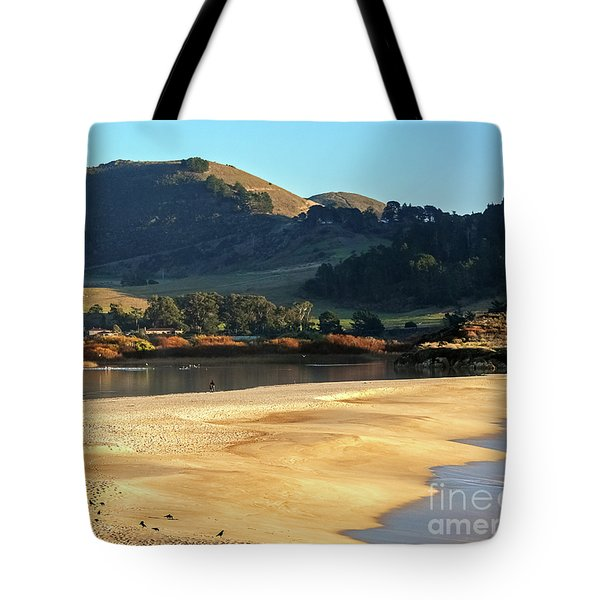 Reflecting The Setting Sun Tote Bag