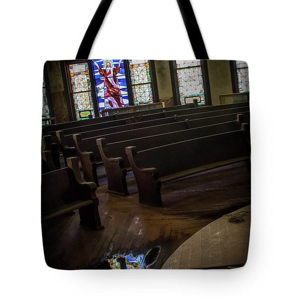 Reflection Of Tears Tote Bag