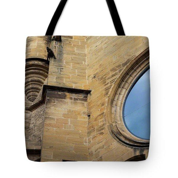 Reflection, Sarlat, France Tote Bag