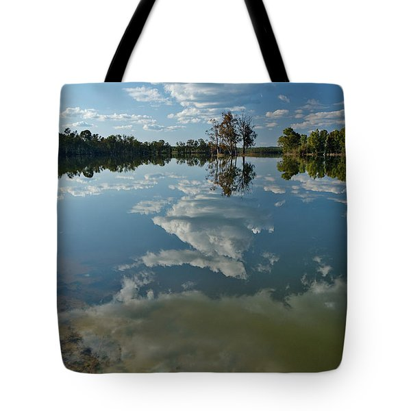 Reflections By The Lake Tote Bag