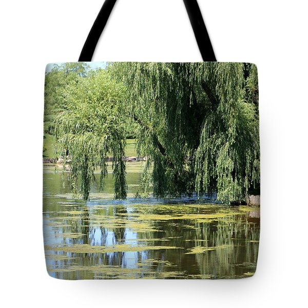 Reflections From Mother Willow Tote Bag